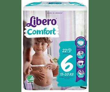 Libero Fralda Comfort (T6)