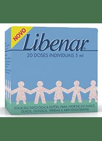 Libenar Baby Soro Fisiológico 5 mL 20 unidades