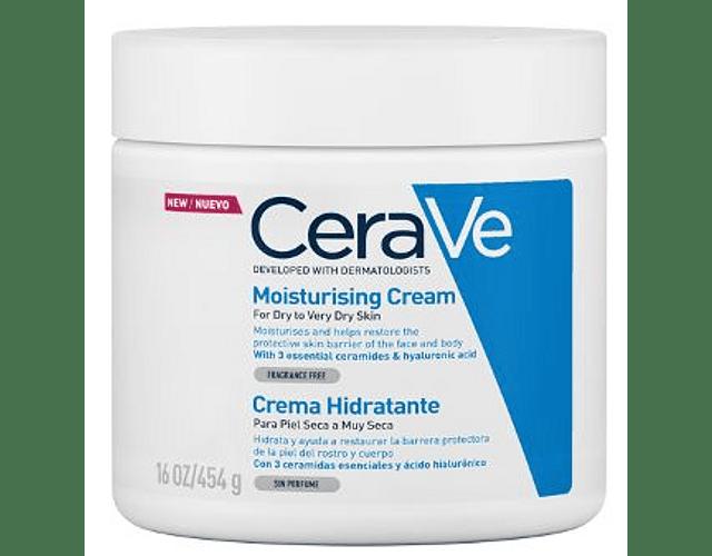 CeraVe Moisturizing Creme Hidratante Diário Rosto e Corpo 454g