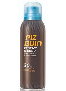 Piz Buin Protect Cool Mousse FPS 30 150 mL