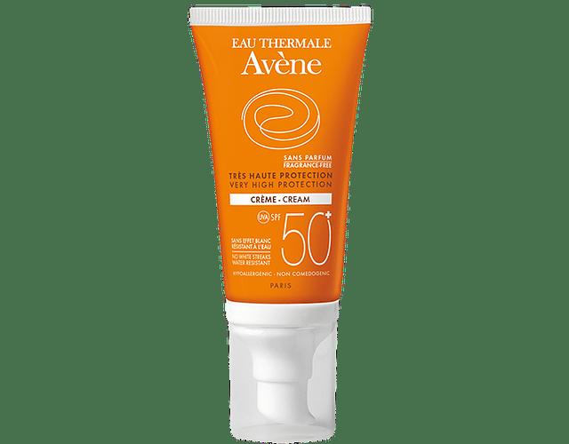 Avène Solar Spf 50+ Creme Sem Perfume 50 mL