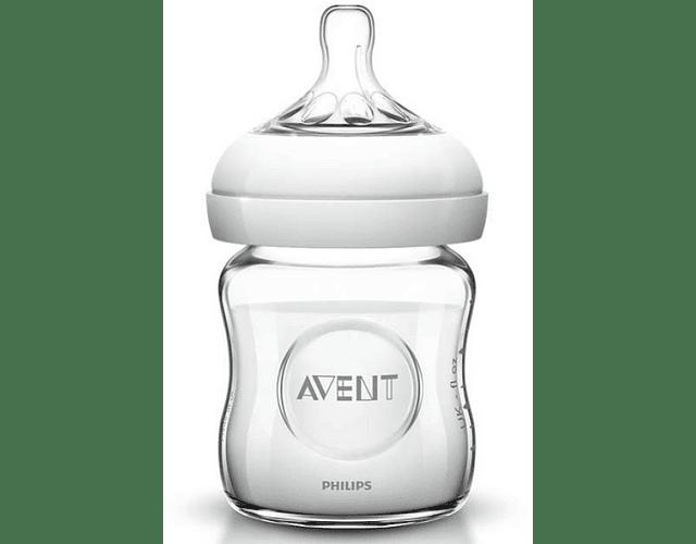 Philips Avent Biberão Natural Vidro 120 mL 0m+ 1 gota