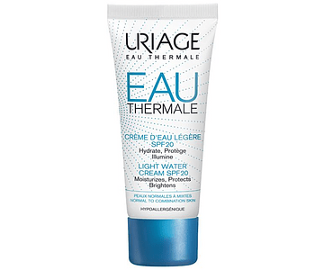 Uriage Eau Thermale Creme Ligeiro FPS 20 40 mL