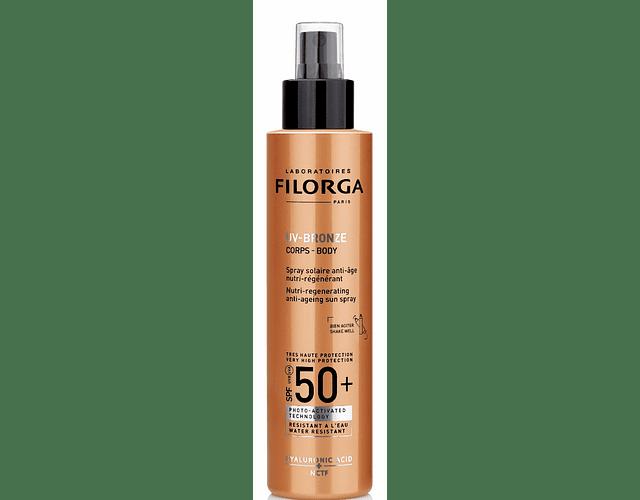 Filorga UV-Bronze Spray Corpo FPS 50+ 150 mL