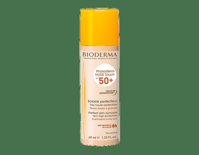 Bioderma Photoderm Bioderm Nude Touch Spf50+ Claro 40mL