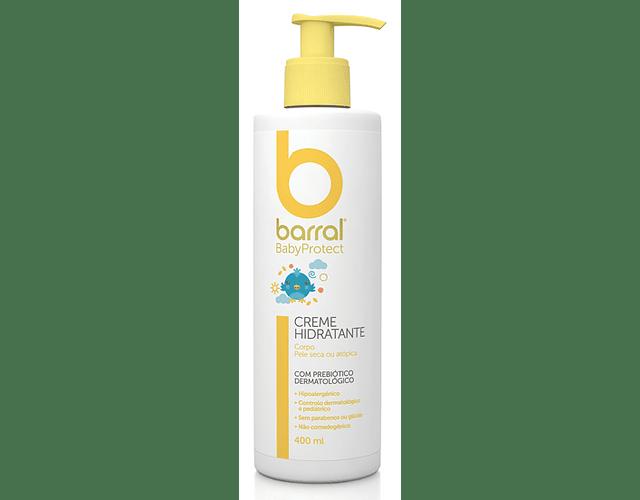 Barral Babyprotect Creme de Banho 500 mL + Creme Hidratante 400 mL + Mochila (OFERTA)