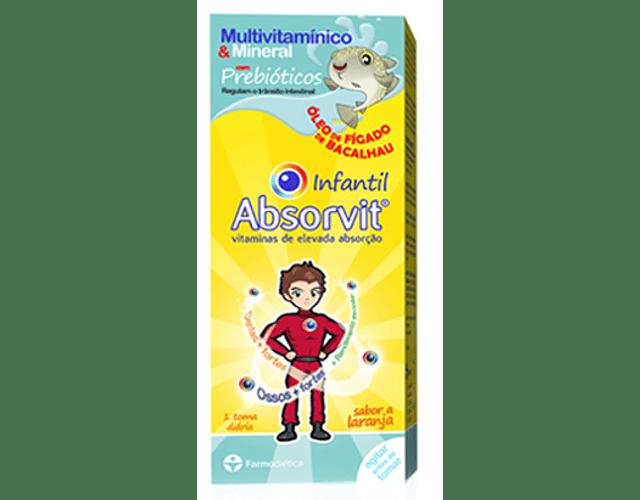 Absorvit Infantil Óleo de Fígado de Bacalhau 150 mL