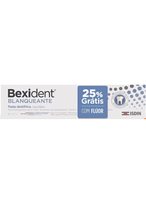 Bexident Blanqueante Pasta Dentífrica 125 mL (+25% Grátis)