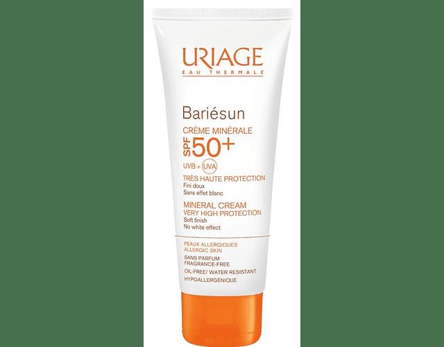 Uriage Bariésun Protetor Creme Mineral FPS 50+ 100 mL