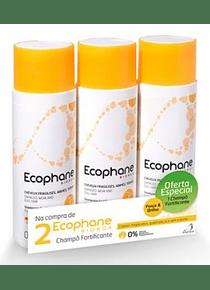 Ecophane Biorga Champô Fortificante 2 x 200 mL + 1 Champô 200 mL (OFERTA)