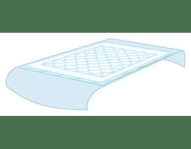 TENA Bed Plus (180x80cm) Com Abas 20 unidades