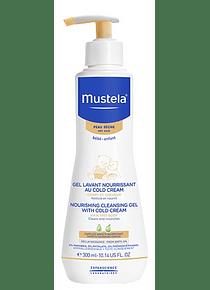 Mustela Bebé Pele Seca Gel Lavante Nutritivo com Cold Cream 300 mL