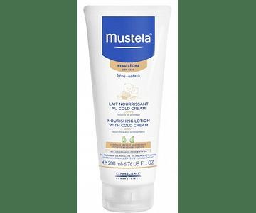 Mustela Bebé Pele Seca Leite Corporal com Cold Cream 200 mL