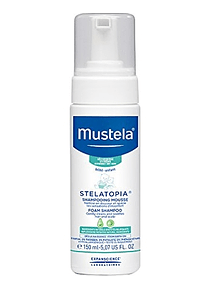 Mustela Bebé Stelatopia Champô em Espuma 150 mL