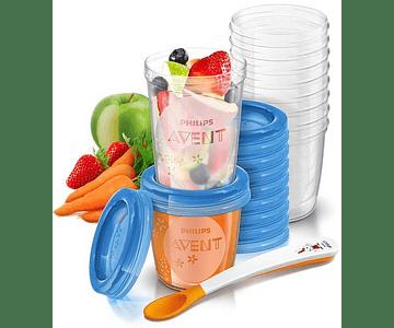 Philips Avent Conjunto Gourmet 20 copos