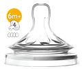 Philips Avent Tetina Natural Fluxo Rápido 4 gotas +6m