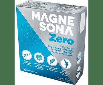 Magnesona Zero 20 Âmpolas x 10 mL