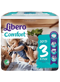 Libero Fralda Confort (T3) x 12       (5.20€/pacote)