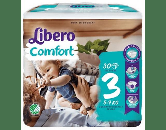Libero Fralda Comfort (T3) x 12       (5.20€/pacote)