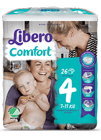 Libero Fralda Confort (T4) x 8         (5.20€/pacote)