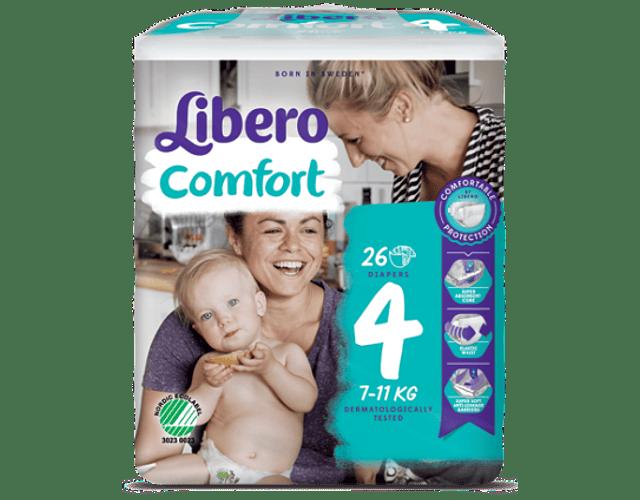 Libero Fralda Comfort (T4) x 8         (5.20€/pacote)
