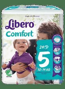 Libero Fralda Confort (T5) x 8           (5€/pacote)