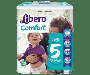 Libero Fralda Comfort (T5) x 8           (5€/pacote)