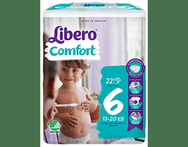 Libero Fralda Comfort (T6) x 16      (4.70€/pacote)