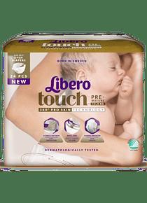 Libero Fralda Newborn Prematuro (T0) x 6       (4.20€/pacote)