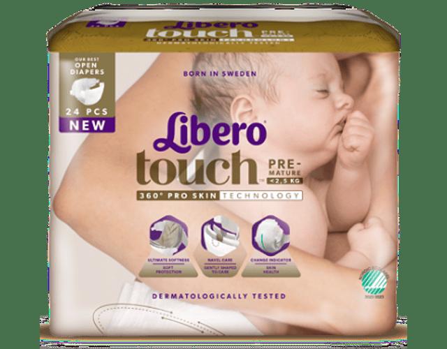 Libero Fralda Newborn Prematuro (T0) x 6       (3.80€/pacote)