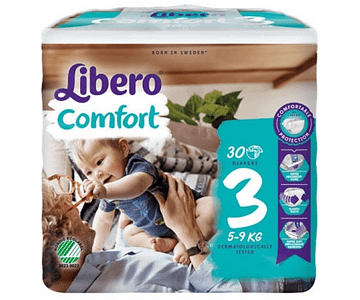 Libero Fralda Comfort (T3) x 6        (5.30€/pacote)