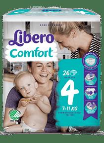 Libero Fralda Comfort (T4) x 16         (4.90€/pacote)