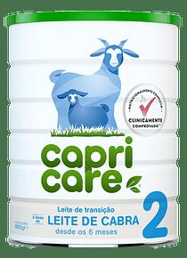 Capricare 2 Leite de Cabra Transição 800g +6 meses