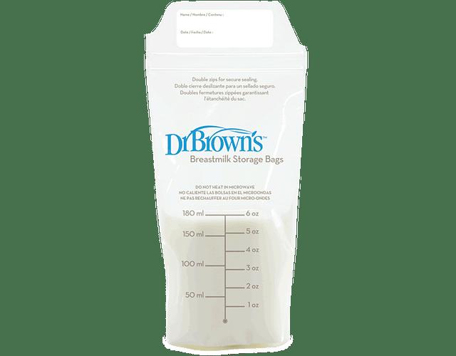 Dr Browns Saco de Conservação para Leite Materno 25 unidades