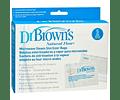 Dr Browns Saco para Esterilização no Microondas 5 unidades