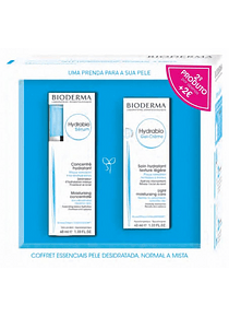 Bioderma Hydrabio Coffret Pele Normal Gel-Creme 40 mL + Sérum 40 mL