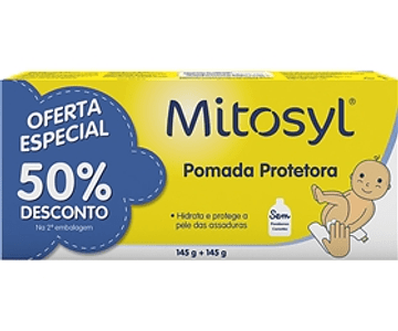 Mitosyl Pomada Protetora 2 x 145gr (Pack Promocional)