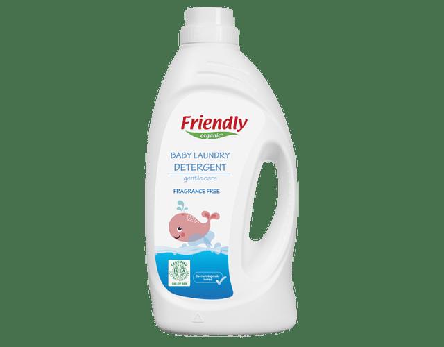 Friendly Organic Detergente Roupa Bebé Sem Perfume 1L