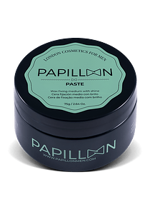 Papillon Paste (Cera de Fixação Média com Brilho)
