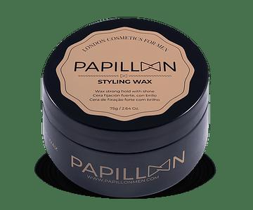Papillon Styling Wax (Cera de Fixação Forte com Brilho)