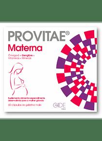 Provitae Materna 60 cápsulas de gelatina mole