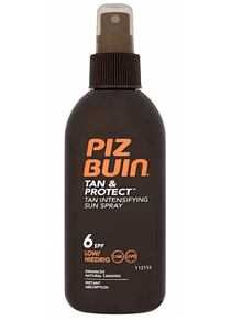 Piz Buin Tan Protect Spray Solar SPF 6 150 mL
