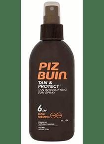 Piz Buin Tan Protect Spray Solar SPF 6 150 mL