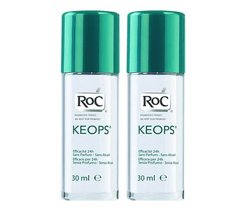 RoC Keops Desodorizante Roll On 2 x 30 mL