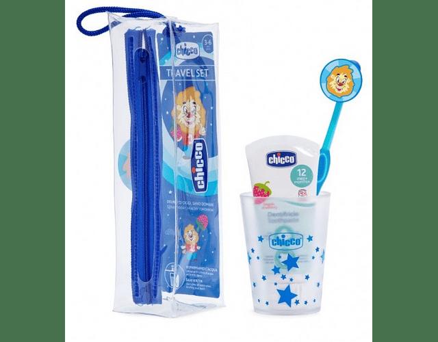Chicco Conjunto Higiene Oral Menino 3-6 Anos