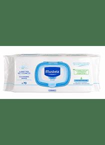 Mustela Bebe Toalhetes de Limpeza com Perfume 70 unid. 2=4 (Pack Promocional)
