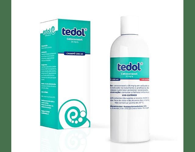 Tedol Champô Cetoconazol 20 mg/g 120 mL