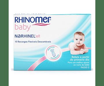 Narhinel Soft Recargas Aspirador Nasal 10unid.