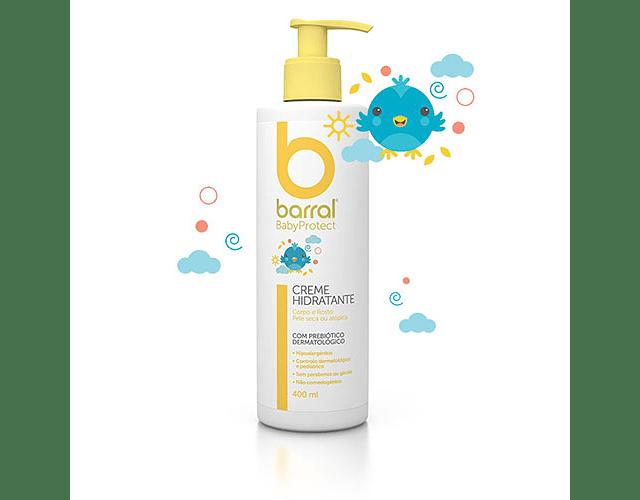 Barral Babyprotect Creme Hidratante 400 mL