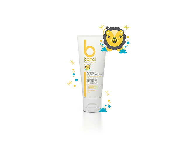 Barral Babyprotect Creme Muda Fraldas 75g
